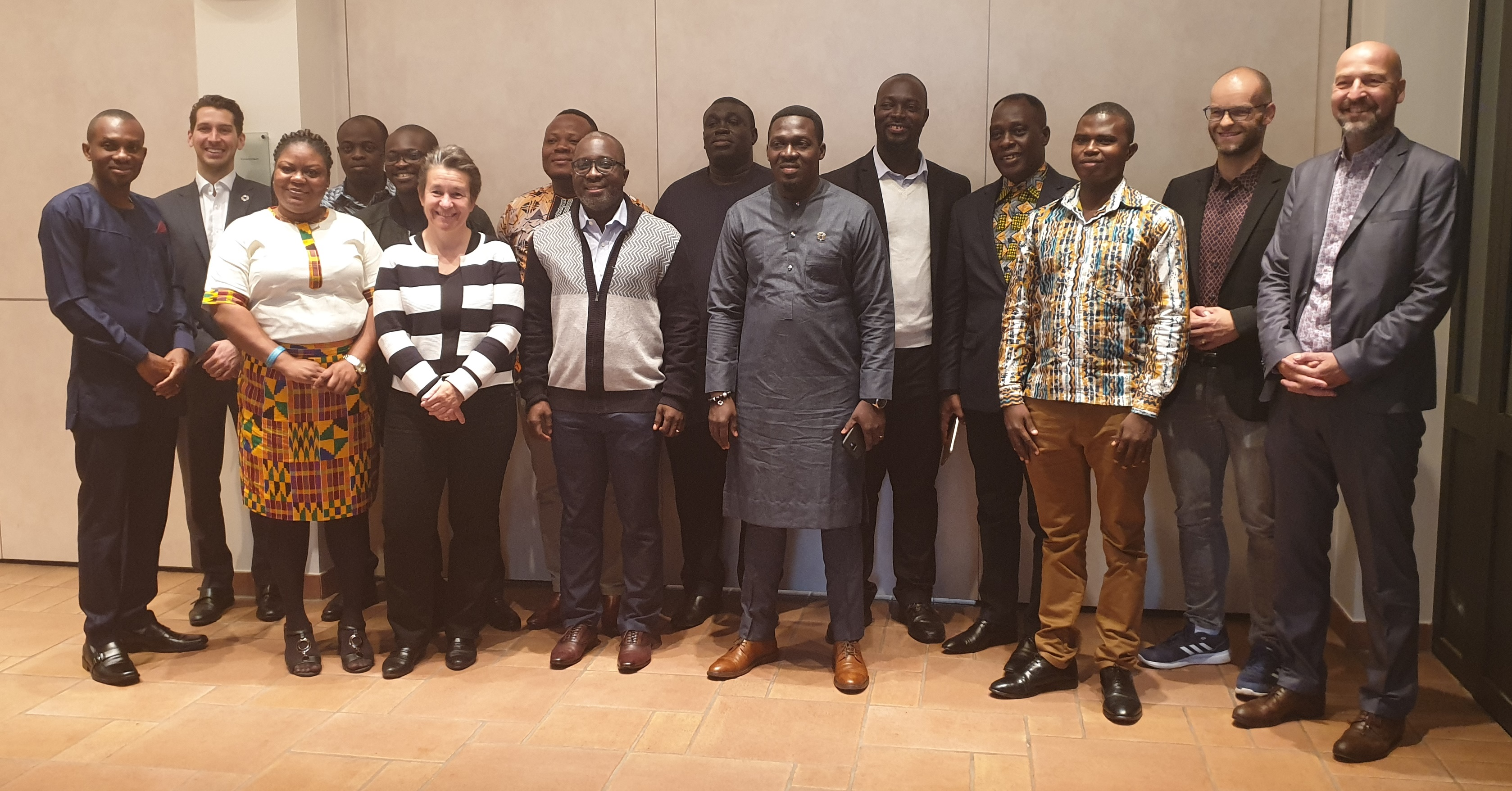 Ghanaische Delegation am 27.09.2019